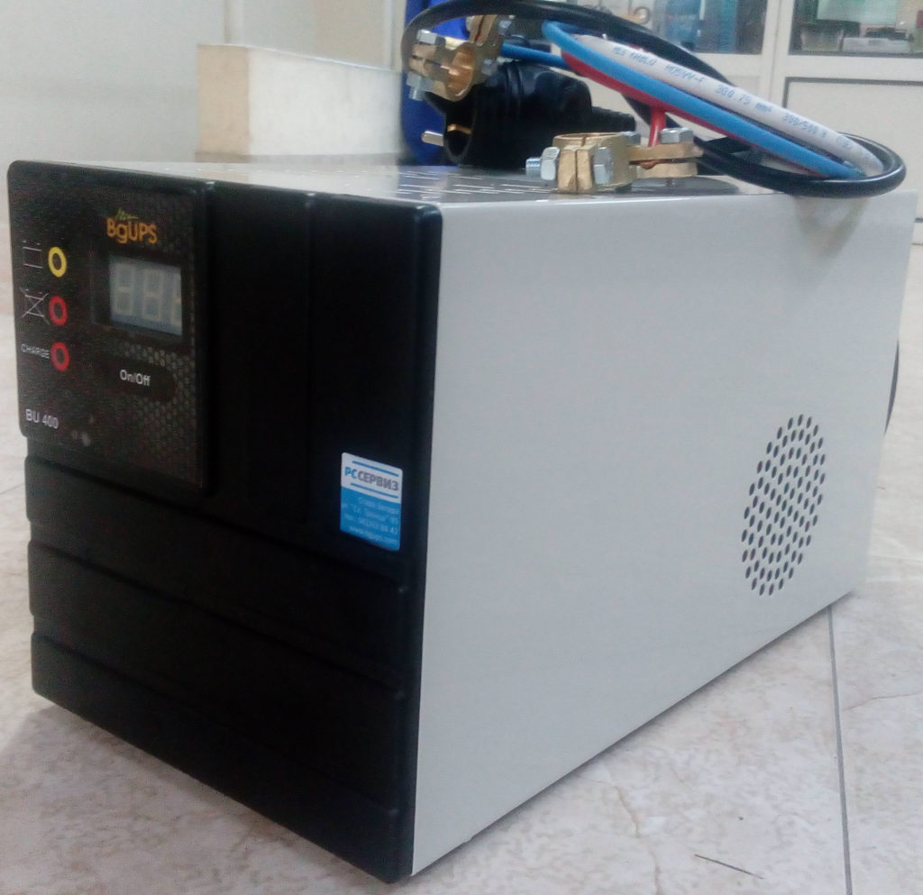BU400 - ups с външен акумулатор