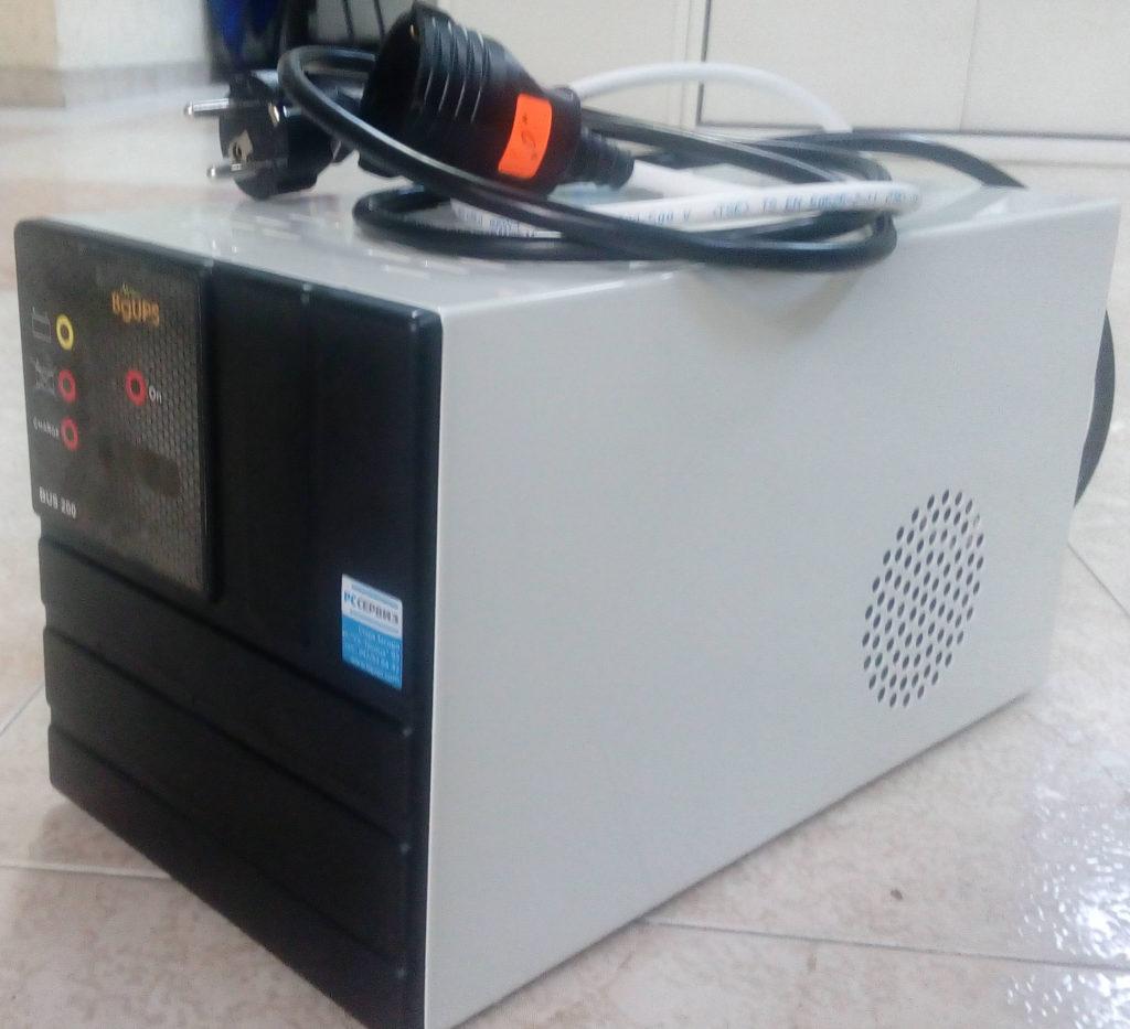 BUS200 с 2 вградени батерии